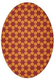 rug #153257   oval rug
