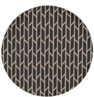 rug #201117   round rug